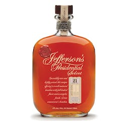 Jefferson's 21yr 94prf 750ml 'Presidential Select' image