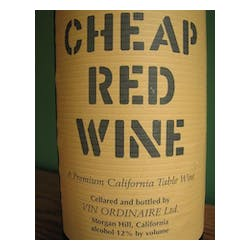 Cheap Red Wine Red Blend NV image