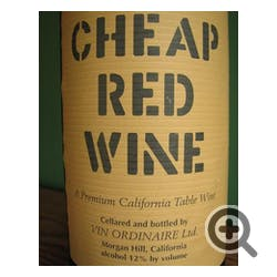 Cheap Red Wine Red Blend NV