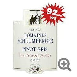 Domaines Schlumberger 'Les Princes' Pinot Gris 2010