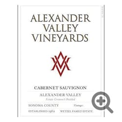 Alexander Valley Vineyards Estate Cabernet Sauvignon 2011