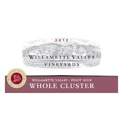 Willamette Valley Vineyards Whole Cluster Pinot Noir 2012 image