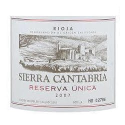 Bodegas Sierra Cantabria Reserva Unica 2008 image