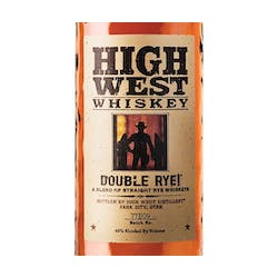 High West 'Double Rye' Rye 92prf