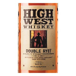 High West 'Double Rye' Rye 92prf image
