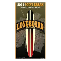 Longboard Vineyards 'Point Break' Red Blend 2011 image