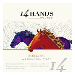 14 Hands Riesling image
