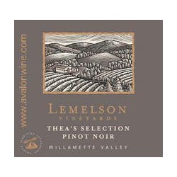 Lemelson Vineyard 'Theas' Pinot Noir 2011