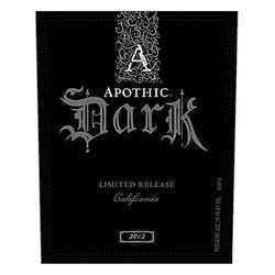 Apothic Wines 'Dark' Red Blend 2013 image