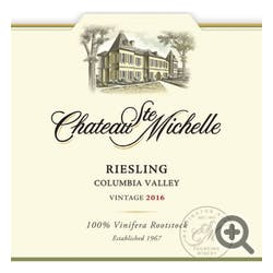 Chateau Ste. Michelle Riesling 2017