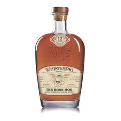 Whistle Pig 12yr 750ml 'The Boss Hog' Barrel Proof image