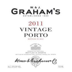 Graham's Vintage Port 2011 image