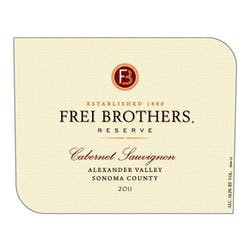 Frei Brothers 'Reserve' Cabernet Sauvignon 2011 image
