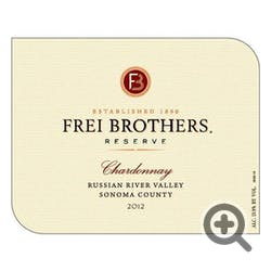 Frei Brothers 'Reserve' Chardonnay 2012