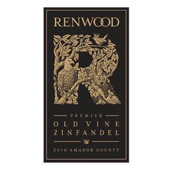 Renwood 'Old Vines' Zinfandel 2011 image