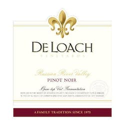 DeLoach 'Russian River Valley' Pinot Noir 2012 image