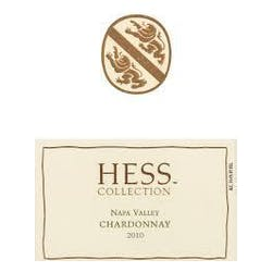Hess Collection Vineyard Chardonnay 2010 image