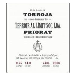 Terroir Al Limit Vi de Vila 2010 image