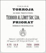Terroir Al Limit Vi de Vila 2010
