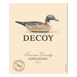 Decoy by Duckhorn Wine Company Zinfandel 2011 image