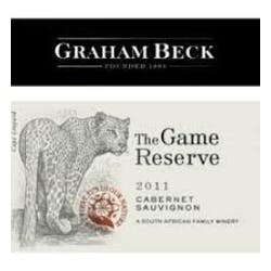 Graham Beck 'The Game Reserve' Cabernet Sauvignon 2010 image