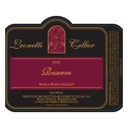 Leonetti Cellars 'Reserve' Red Blend 2011 image