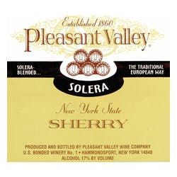 Pleasant Valley Wine Company 'Solera' Sherry image
