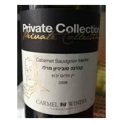 Carmel Winery 'Private Coll' Cabernet Sauvignon 2011 image