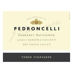 Pedroncelli 'Three Vineyards' Cabernet Sauvignon 2011 image