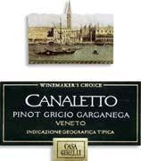 Canaletto 'Wine Makers' Pinot Grigio 2010