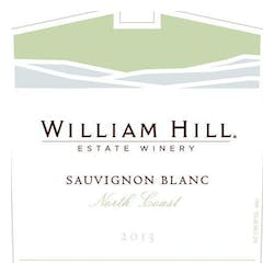 William Hill Estate 'North Coast' Sauv Blanc 2013 image