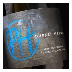 Purple Hands Winery 'Stoller Vineyard' Pinot Noir 2012 image