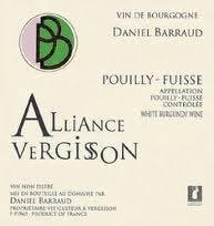 D Barraud 'Alliance-Vergisson' Pouilly-Fuisse 2012