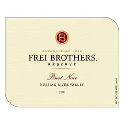 Frei Brothers 'Reserve' Pinot Noir 2011 image