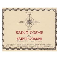 Chateau St Cosme 'St Joseph' Rhone Red 2012 image