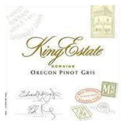 King Estate Pinot Gris 2013 image