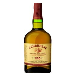 Redbreast 12year Single Pot Irish Whiskey 750ml image