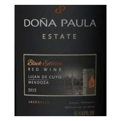 Dona Paula 'Estate' 'Black Edition' Red Wine 2012 image