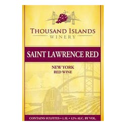 Thousand Islands Winery Saint Lawrence Red 1.5L image