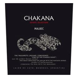 Chakana Winery 'Estate' Malbec 2013 image