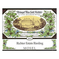 Max Richter 'Estate' Riesling 2013 image
