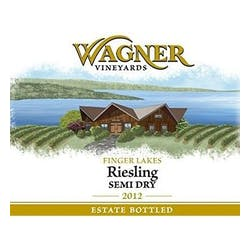 Wagner Vineyards Semi Dry Riesling 2012 image