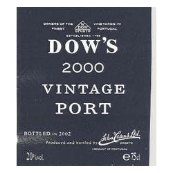 Dow's Vintage 2000 Port 375ml image