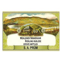 S.A. Prum Sunnenuhr Auselese Riesling 09 image