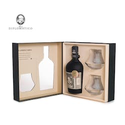 Ron Diplomatico 750ml GIFT PK Reserva Exclusiva 12yr image