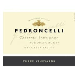 Pedroncelli 'Three Vineyards' Cabernet Sauvignon 2012 image