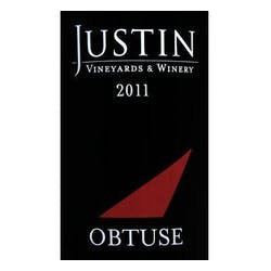Justin Vineyards Obtuse Port 2011 375ml image