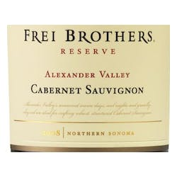 Frei Brothers 'Reserve' Cabernet Sauvignon 2012 image