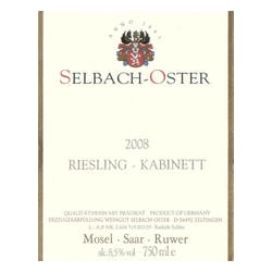 Selbach-Oster Riesling Kabinett 2013 image