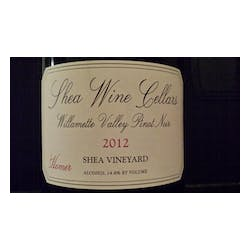 Shea Wine Cellars 'Homer' Pinot Noir 2012 image